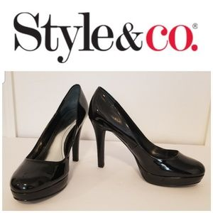 Style & Co. Patent Leather Pumps